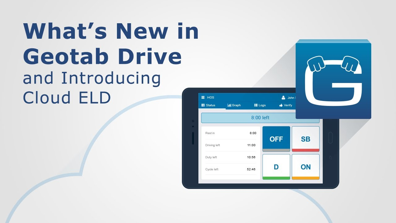 What's New in Geotab Drive & Introducing Cloud ELD