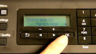 Fax setting for Canon MX416