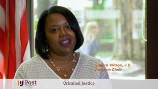 Bachelor's Degree in Criminal Justice | Post University