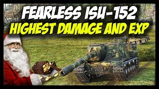 ► World of Tanks: ISU-152, 10,500+ Damage, Highest Damage & EXP - Giveaway Day 2 - Past #10
