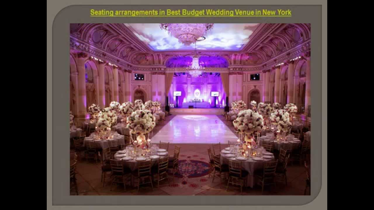 WEDDING VENUES IN NEW YORK WITH CREATIVE IDEAS BEST FOR YOUR BUDGET