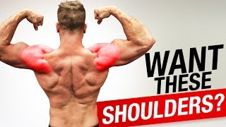 3 Shoulder Exercises For Skinny Guys / HARDGAINERS!