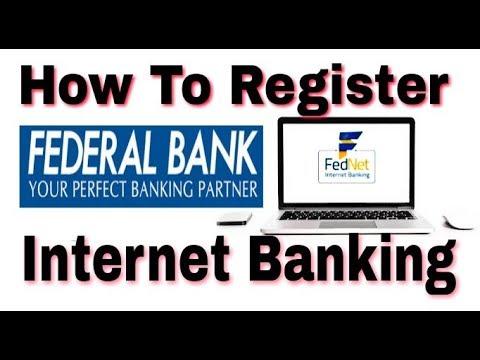 Federal bank internet banking tutorial youtube.