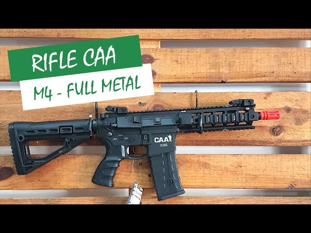 RIFLE CAA M4 FULL METAL - AIRSOFTS