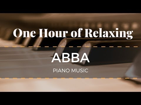 1 Hour of Relaxing ABBA Piano Music
