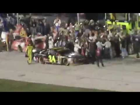 Jeff Gordon vs Brad Keselowski fight at Texas Motor Speedway AAA Texas 500