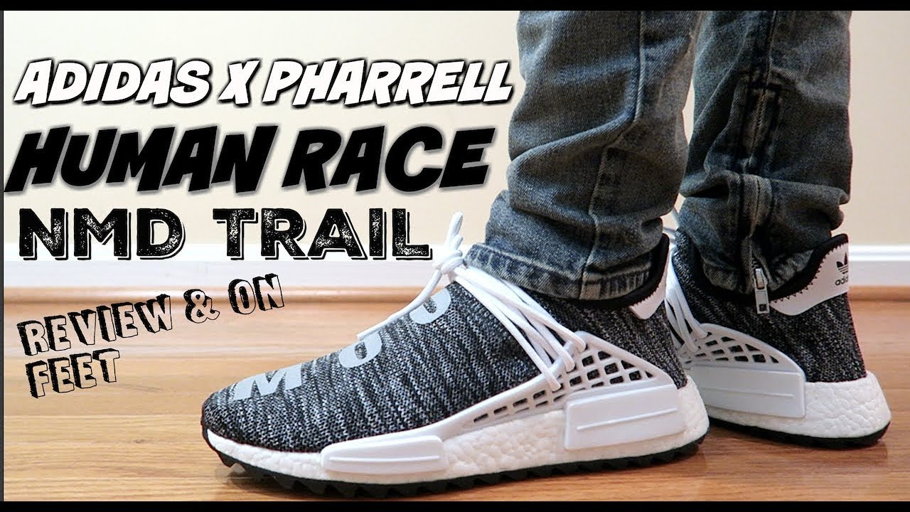 brand new 859f9 2ad4a (COP THEM NOW📈📈) Adidas x Pharrell Williams Human Race NMD Trail