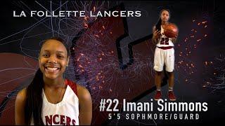 #LaFolletteLancers Varsity Girls Basketball 2019-2020  Team Line Up