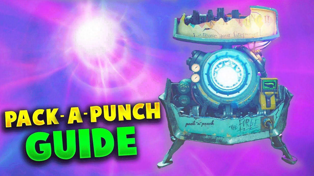 how to pack a punch on die maschine black ops cold war zombies