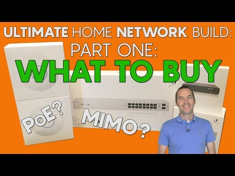 The ULTIMATE (Smart) Home Network - Part 1: Hardware Selection
