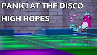 Fortnite Creative: Panic! At The Disco - High Hopes - Music Blocks - 7681-5807-1215