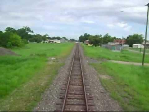 Leaving Houston on Amtrak