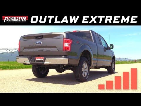2015-19 Ford F-150 2.7L, 3.5L, 3.5L TiVCT, 5.0L - Outlaw Extreme Cat-back Exhaust System 817917