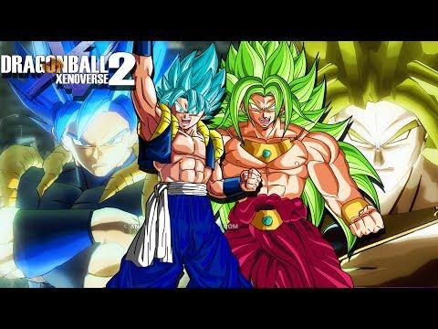 SUPER SAIYAN BLUE GOGETA VS GOD BROLY! Battle For Ultimate Survival   Dragon Ball Xenoverse 2 Mods