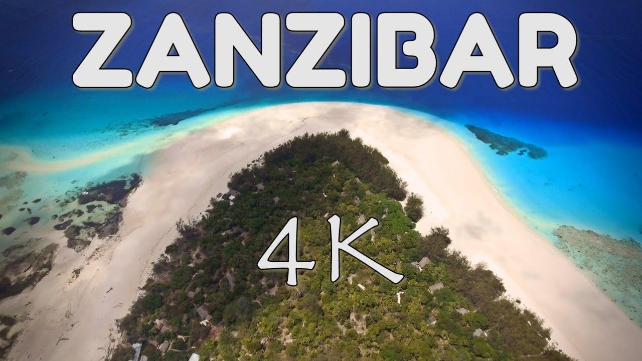 ZANZIBAR BEST BEACHES 4K DRONE