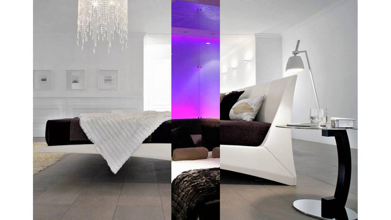 moderne schlafzimmer ideen youtube. Black Bedroom Furniture Sets. Home Design Ideas