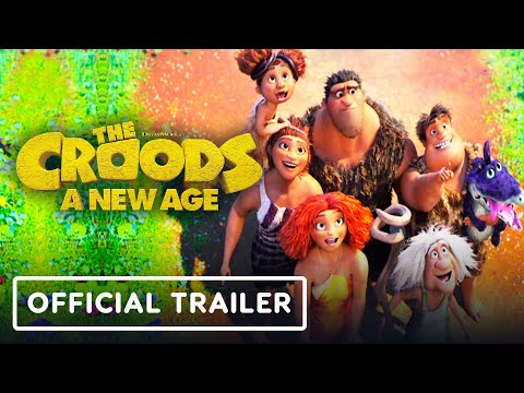 The Croods: A New Age - Official Trailer (2020) - Nicolas Cage, Emma Stone, Ryan Reynolds
