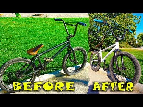 Как восстановить Б/У BMX? / БАЙК на ПРОКАЧКУ