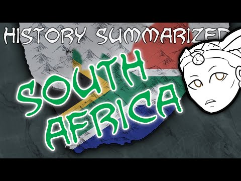 History Summarized: South Africa