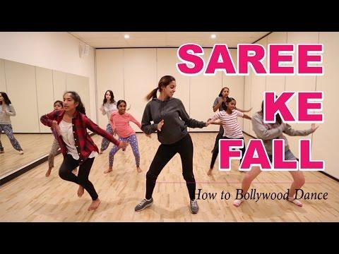 Saree Ke Fall (R...Rajkumar) || How to Bollywood Dance-Tutorial || Francesca McMillan