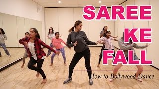 Repeat youtube video Saree Ke Fall (R...Rajkumar) || How to Bollywood Dance-Tutorial || Francesca McMillan
