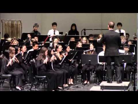 Andrew Lam - 7th All Northern California Junior High Honor Band 1-19-2014 (Video 1)