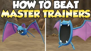 How To Beat Zubat & Golbat Master Trainers Guide! | Pokemon Let's Go