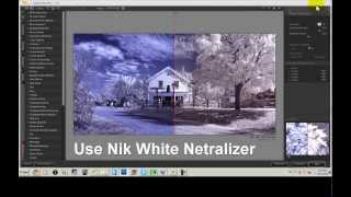 Digital Infrared Photography Post Processing Workflow