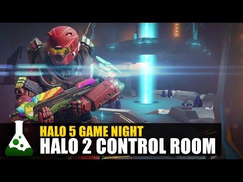 Halo 5 Game Night - Halo 2 Control Room