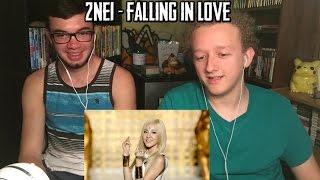 2NE1 - FALLING IN LOVE M/V | REACTION (ft. Ben Fischer)
