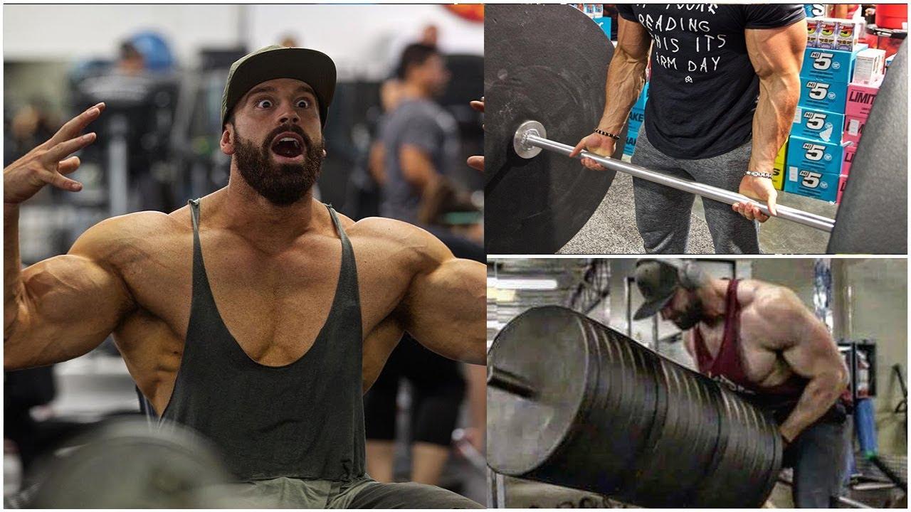 """Bradley Martyn và những bài tập gym """"điên"""" nhất – Động lực Gym"""