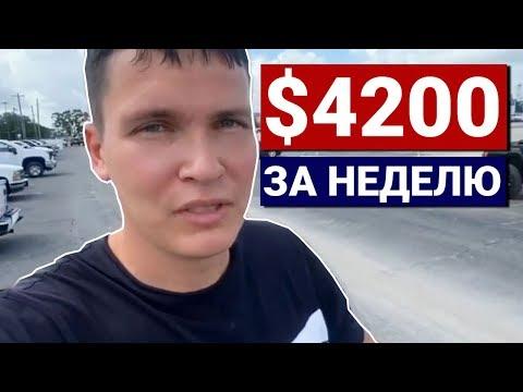СИСУН Трак-драйвер | Реальный доход за неделю в США