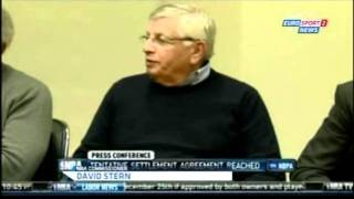 NBA Lockout settlement agreement reached (Nov 2011)