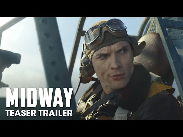 Midway (2019 Movie) Teaser Trailer - Ed Skrein, Patrick Wilson, Nick Jonas