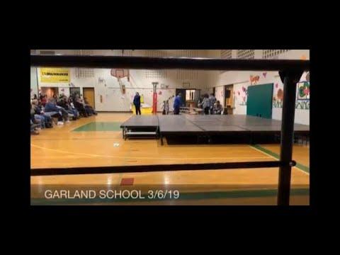 Garland school 3/6/19