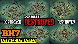 Best Builder Hall 7 Attack Strategy! Tips for BH7 Builder Base Attaack | Clash of Clans