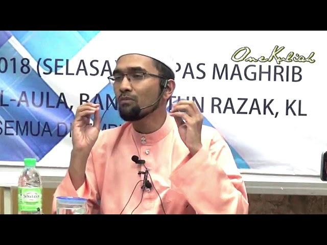 20180313-Dr Rozaimi-Hidup Mudah Dgn Fahami Khilaf Ulama & Fahami Sunnah Nabi SAW