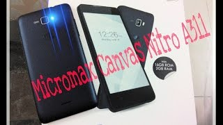 micromax canvas nitro a311 unboxing reviews