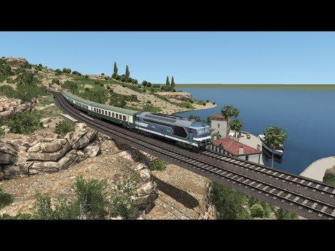Train Simulator 2018 | Marseille to Martigue Route | BB67400 Diesel Locomotive HD