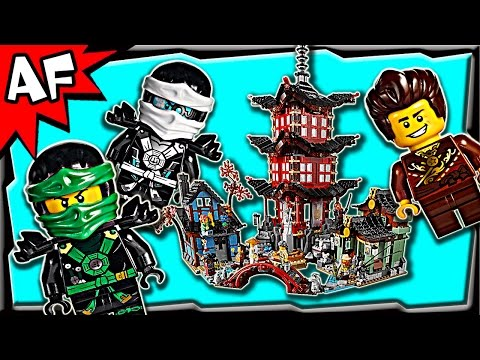 Lego Ninjago TEMPLE of AIRJITZU 70751 Stop Motion Build Review