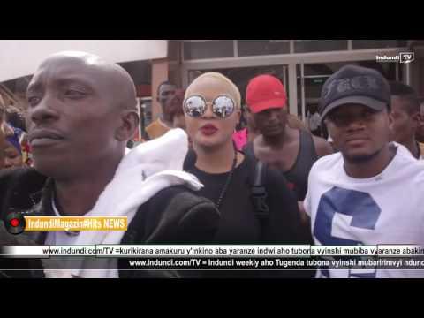 Indundi Tv News# Jackline Wolper ashika ku kibuga C'indege ca Bujumbura