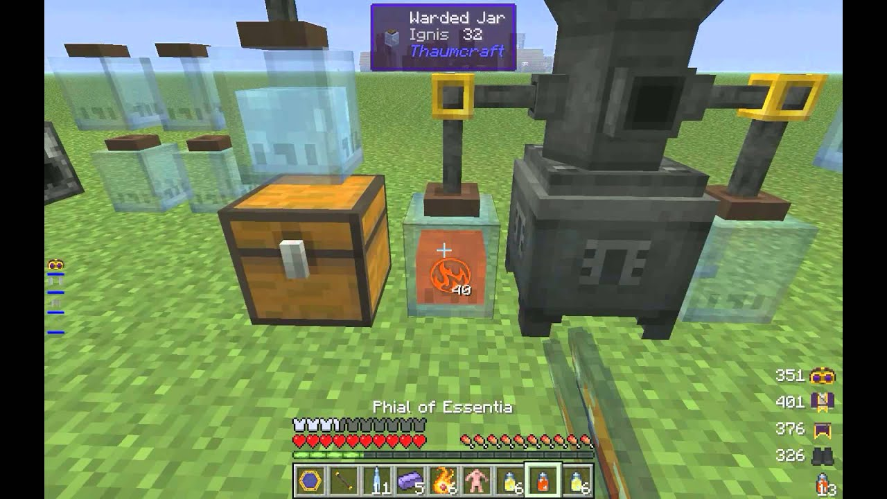 82 TUTORIAL THAUMCRAFT 6 HOW TO REMOVE FLUX INCLUDE VIDEO