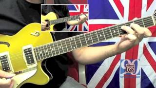 "How to Play ""She Loves You"" by The Beatles on Guitar - Lesson Excerpt"