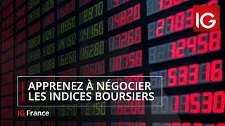 Apprenez à les indices boursiers - Formation Trading