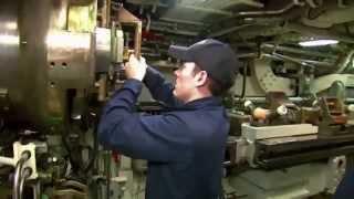 U.S. Navy Ohio Class Nuclear Attack Submarine