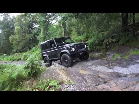 Yorkshire 4x4 coast to coast. Land-Rover Defender 90