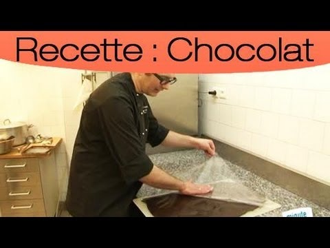 d coration de gateau avec du chocolat youtube. Black Bedroom Furniture Sets. Home Design Ideas