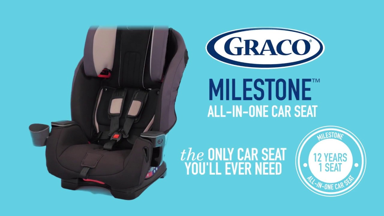 Graco Milestone Car Seat Isofix Graco Milestone All In One Car Seat