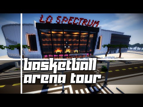 Minecraft: Basketball Arena Tour! (The LD Spectrum)