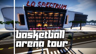 Minecraft: Basketball Arena Tour! (The LD Spectrum)